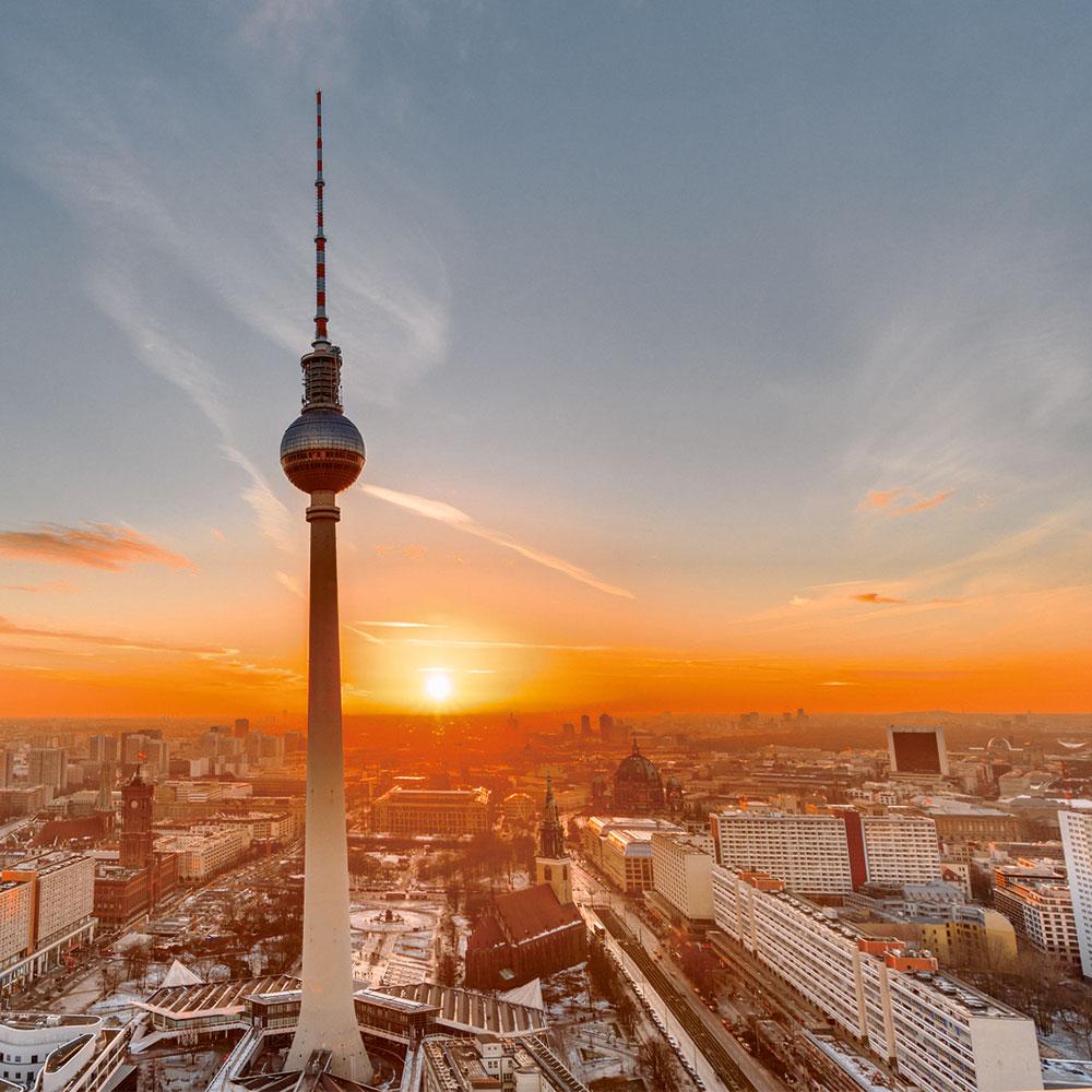Goldener Blick über Berlin - Global Gold