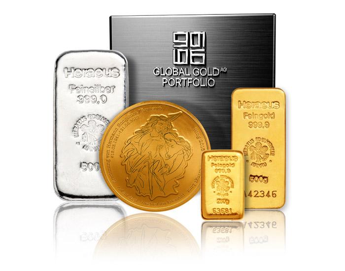 Goldportfolio bei Global Gold